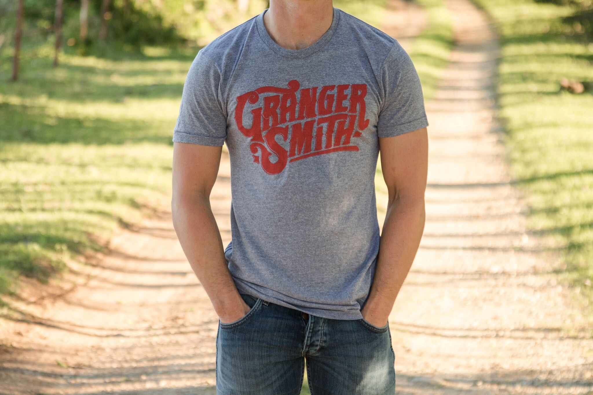 Granger Smith Tee (Grey)
