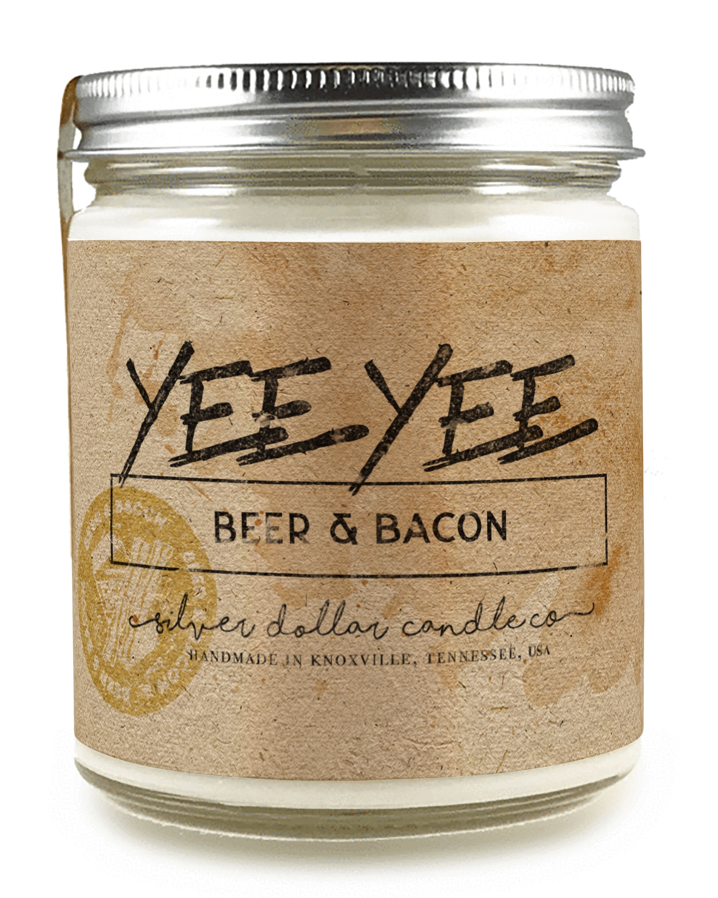 Yee Yee Candle (Beer and Bacon)