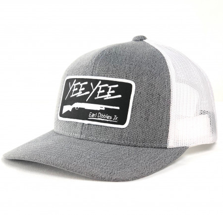 Black/ White Patch Snapback