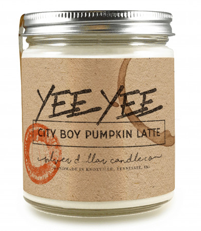 Yee Yee Candle (City Boy Pumpkin Latte)